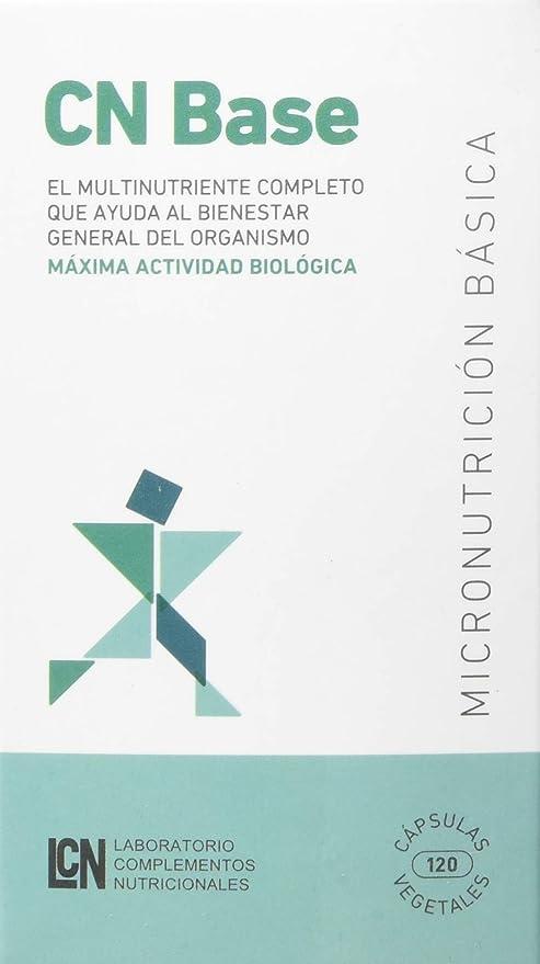 Lcn - Multinutriente Completo CN BASE, 120 Cápsulas: Amazon.es ...
