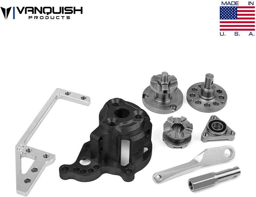 Vanquish Products Hurtz Dig V2 Black Anodized For Axial VPS01350