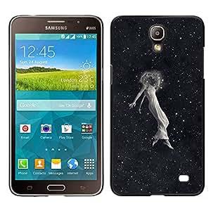 EJOY---Cubierta de la caja de protección la piel dura para el / Samsung Galaxy Mega 2 / --Space Girl Emo