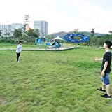 Flyday Flashflight Frisbee Ring Training Flying Disc Hoop Easy to Catch 27 Inch,Cool Gifts for Birthday,Outdoor Play