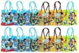 Disney Pixar Toy Story Party Favor Goodie Gift Bag - 6'' Small Size (12 Packs) by Toy Story