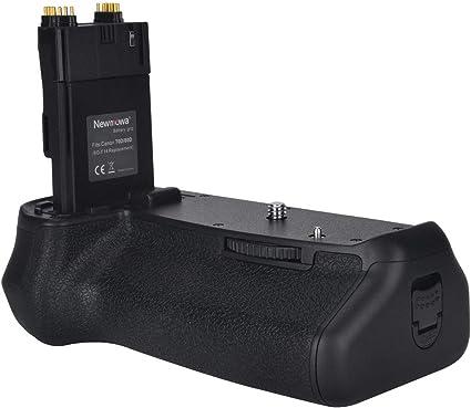 Newmowa Mango de Repuesto Battery Grip para Canon EOS 70D/80D ...