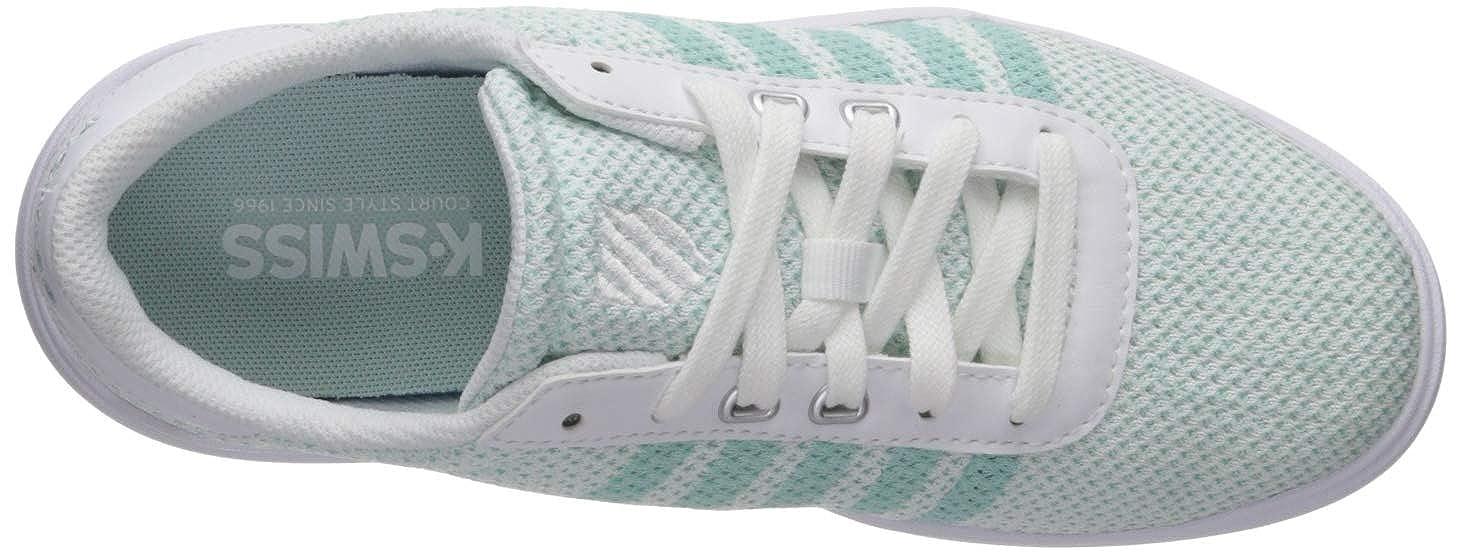 5507f025f6218 Amazon.com   K-Swiss Women's Heritage Light T Sneaker   Fashion Sneakers