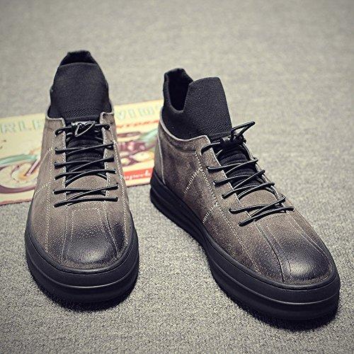 XIE ZI Scarpe da Uomo Scarpe da Uomo Invernali Versione Coreana delle Scarpe Casual da Uomo Britannico Alla Moda Scarpe da Uomo XXPP