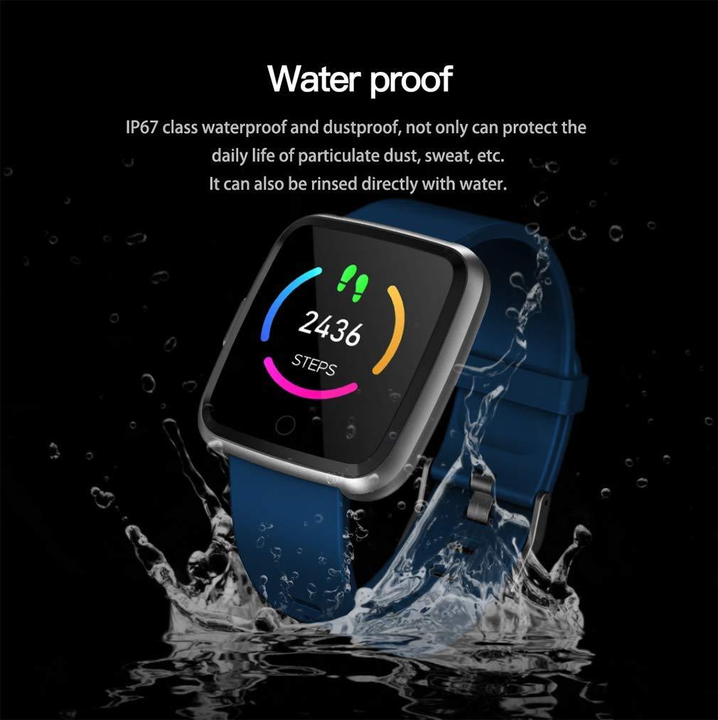 DUABOBAO Reloj Inteligente con Bluetooth, Pantalla Táctil, Reloj Deportivo, Compatible con Android E iOS, Niños Y Mujeres - Soporte De Fotografía Remota ...