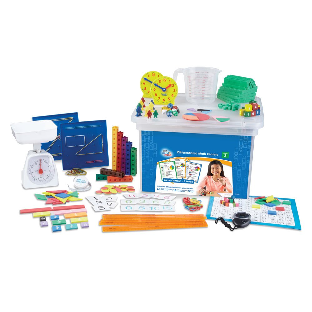 Differentiated Math Center Classroom Kit - Grade 3