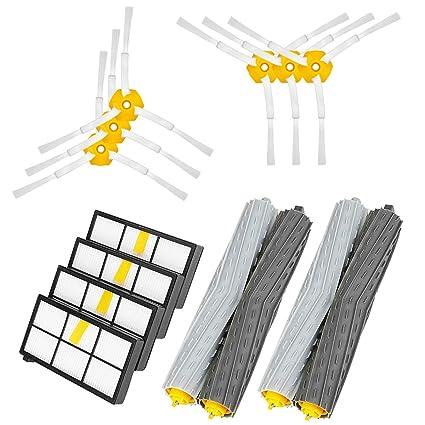 Powilling Repuestos de Accesorios para IRobot Roomba Serie 800 805 860 861 870 871 880 885