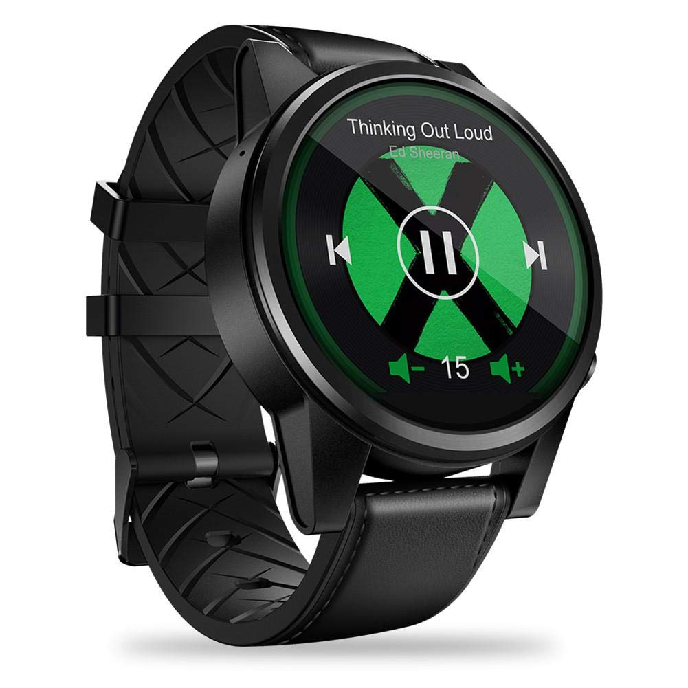 PQFYDS GPS Smartwatch, Zeblaze Thor 4 PRO 4G Smart Watch 1.6 inch Crystal Display GPS/GLONASS Quad Core 16GB ROM 5.0MP Camera Support Nano SIM ...