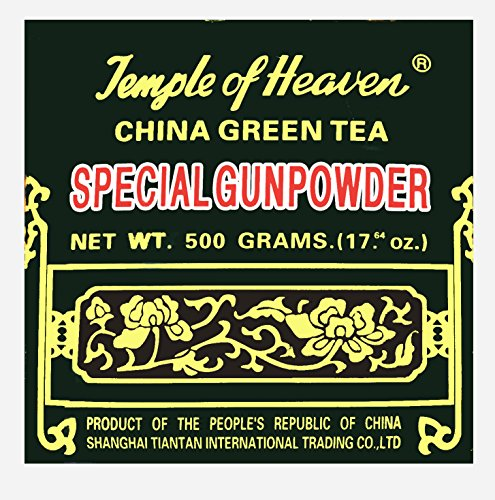 China Green Tea Special Gunpowder (Temple of Heaven G603) 500g. (17.64 Oz)