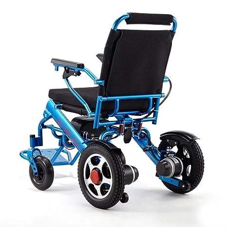 Silla de ruedas eléctrica - silla eléctrica plegable (peso ...