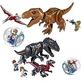 Cosmostation 最恐の肉食恐竜 ティラノサウルス 2体 + ミニフィギュア セット 探検家 リポーター
