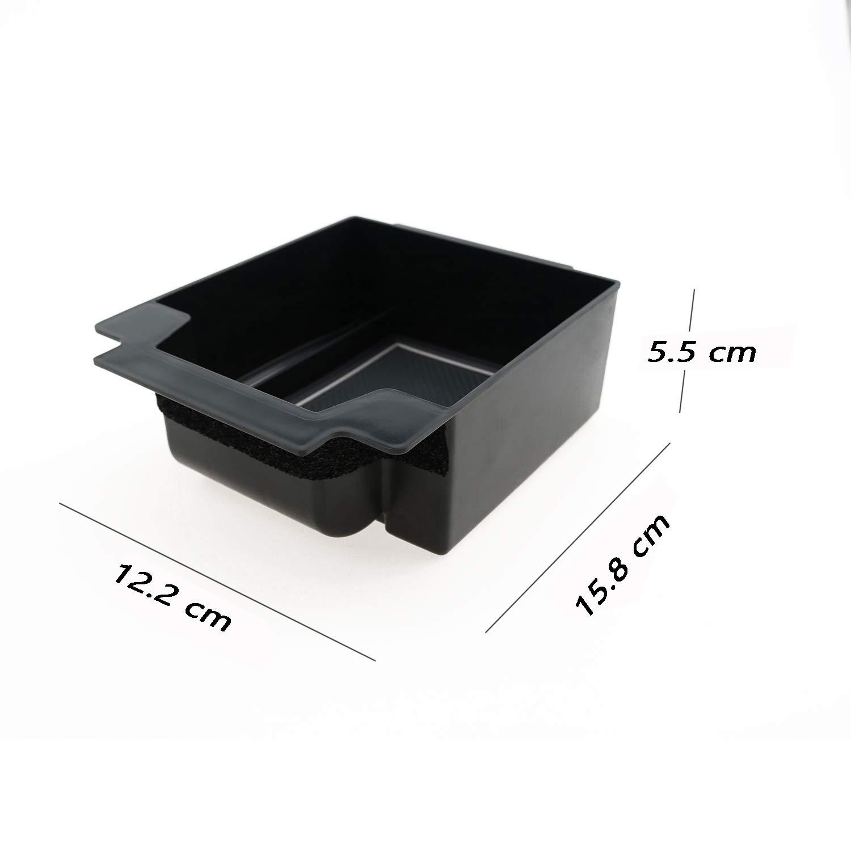 Control Console Storage box LFOTPP Scatola di immagazzinaggio del bracciolo per Ateca Bianco