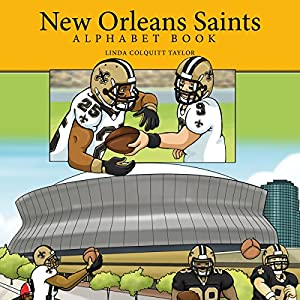 New Orleans Saints Alphabet Book Audiobook