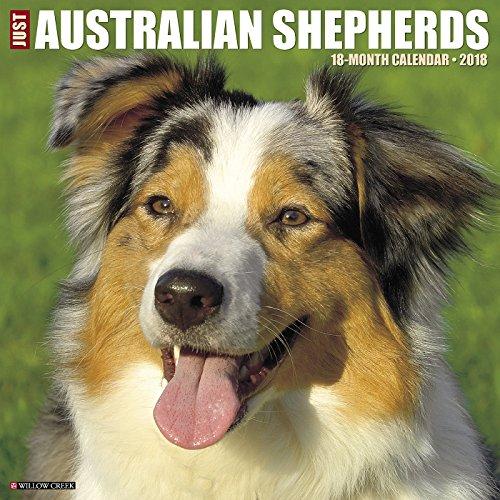 Just Australian Shepherds 2018 Calendar