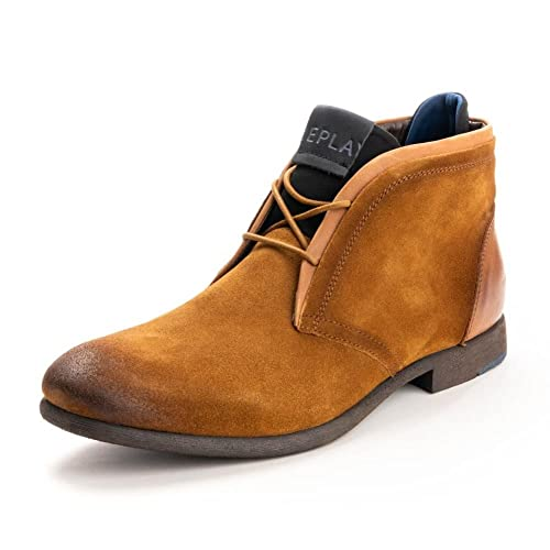 Replay Mens Chaussures gmz71.134.c0010l DK BRN UK10 EU44 US11 TkFg1Xq