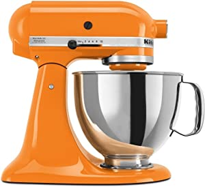 KitchenAid 4.5 Quart Tilt Head Stand Mixer, Tangerine Color