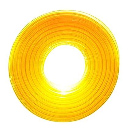 Universal 1 m manguera de combustible 5 mm x 8 mm Amarillo ...