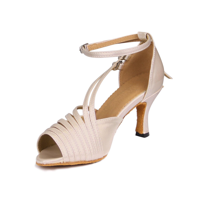 Sukutu SU Zapatos para mujer para bailes de salón latino salsa o