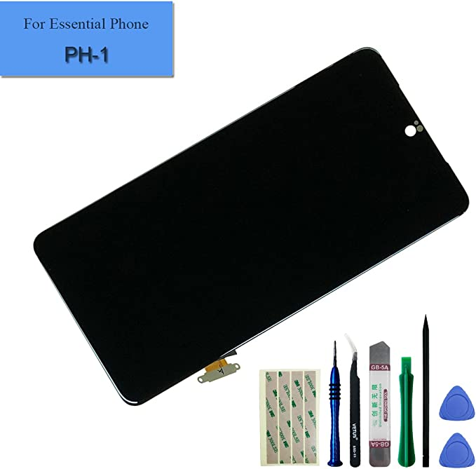 Pantalla LCD para Essential Phone de pH 1 5.71 Negro Pantalla ...