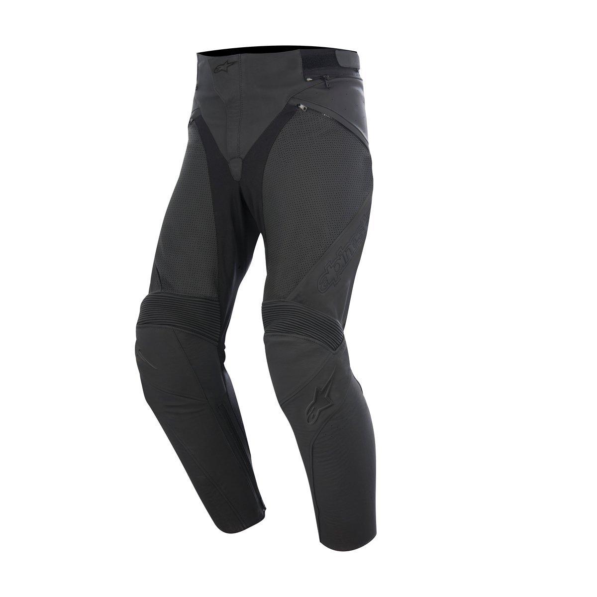 Alpinestars Jagg Airflow Men's Sports Bike Motorcycle Pants - Black/Black / Size 44