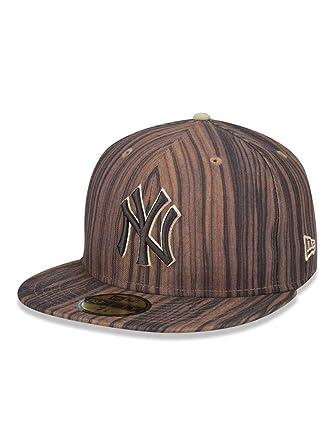 BONE 5950 NEW YORK YANKEES MLB ABA RETA MARROM NEW ERA  Amazon.com ... 41bea51efba