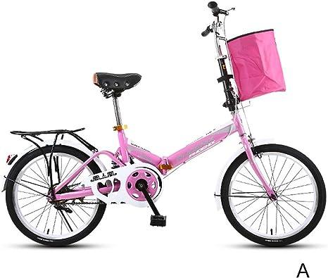 Ppy778 Bicicleta Plegable Bicicleta para niños Bicicleta niño ...