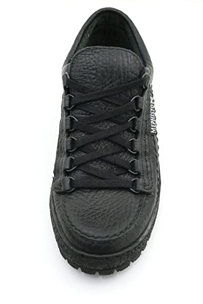 c49bef8c72 Mephisto Rainbow Black Mamouth (Leather) Mens Shoes: Amazon.co.uk: Shoes &  Bags