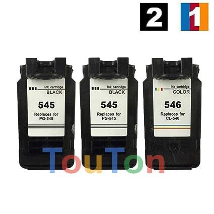 Touton cartuchos de tinta de repuesto para Canon PG 545 CL ...