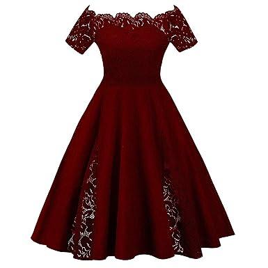 acfa349bc4b Vintage Plus Size Scalloped Off Shoulder A-Line Lace Patchwork Evening Dress  (4XL US20