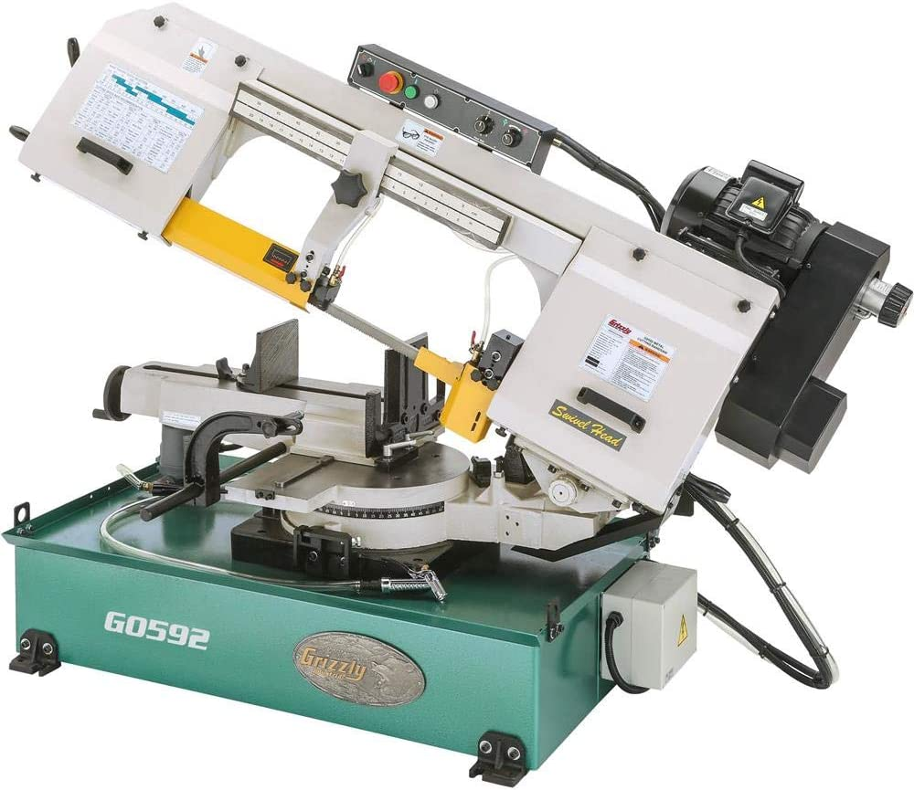 """Grizzly Industrial G0592-10"""" x 18"""" 2 HP Metal Cutting Bandsaw"""