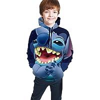 Kay Sam Sudadera con Capucha para Adolescentes de Lilo Stitch, Sudaderas con Capucha Personalizadas, suéter para niños…