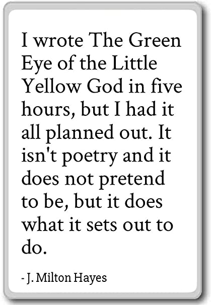 Amazon.com: I wrote The Green Eye of the Little Yellow ...