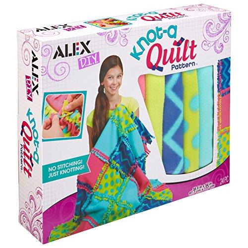 Alex DIY Knot-A-Quilt Pattern -