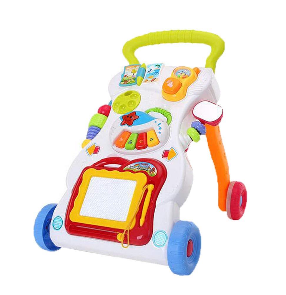 Pasos De Bebé Actividad Walker Toy Soporte Musical Multifuncional ...