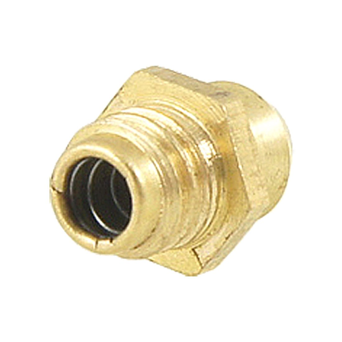 sourcingmap Brass M6 Male Thread Straight Hydraulic Grease Nipple Fitting a11121000ux0055
