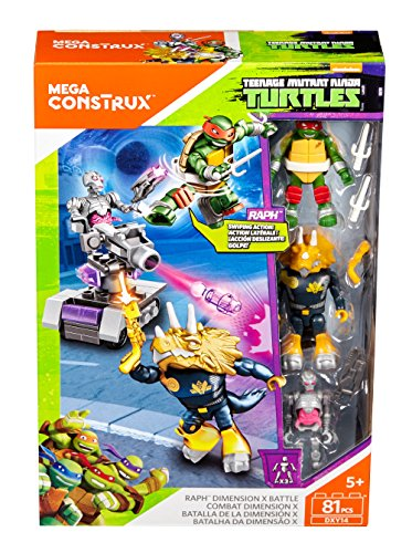 Mega Construx Teenage Mutant Ninja Turtles Ralph Dimension X Battle Building Set