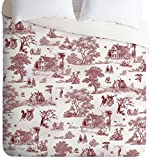 Deny Designs Belle13 Vintage Sunday Afternoon Duvet Cover, Twin/Twin XL