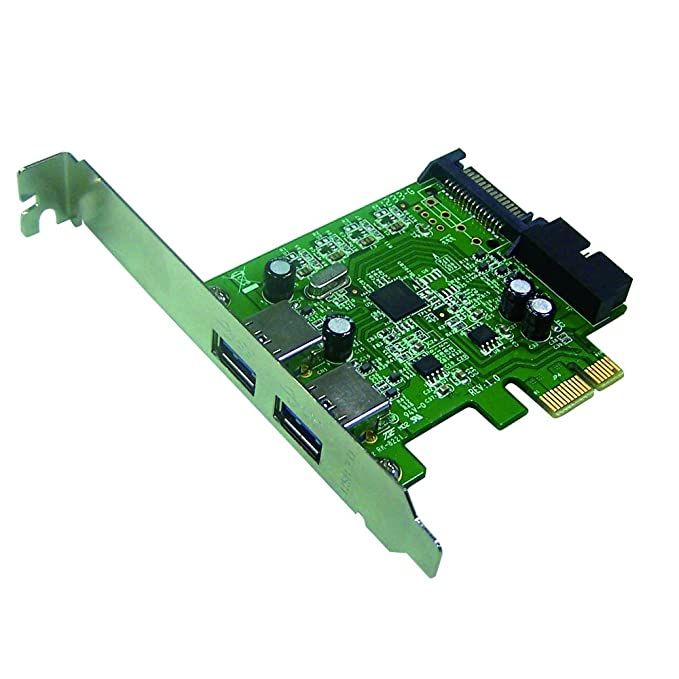 Mediasonic 2 puertos USB 3.1 (10 Gbps) tarjeta PCI Express 2 ...