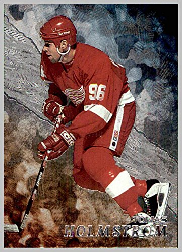 (1998-99 BAP Be A Player #196 Tomas Holmstrom DETROIT RED WINGS)