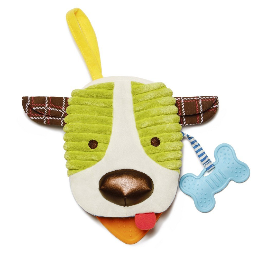 Skip Hop Bandana Buddies Soft Activity Puppet Book, Puppy