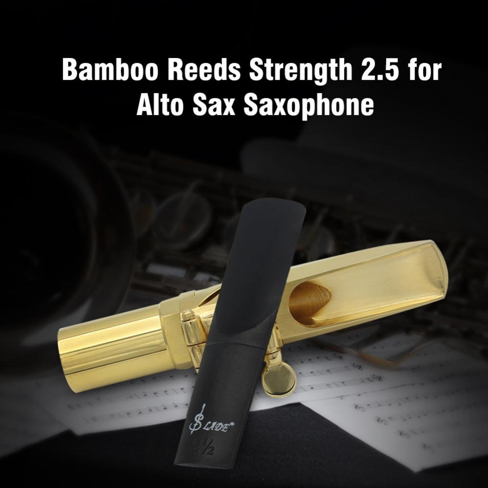 Saxophone Reeds Durable ABS Reed Strength 2.5 for Alto Saxophone