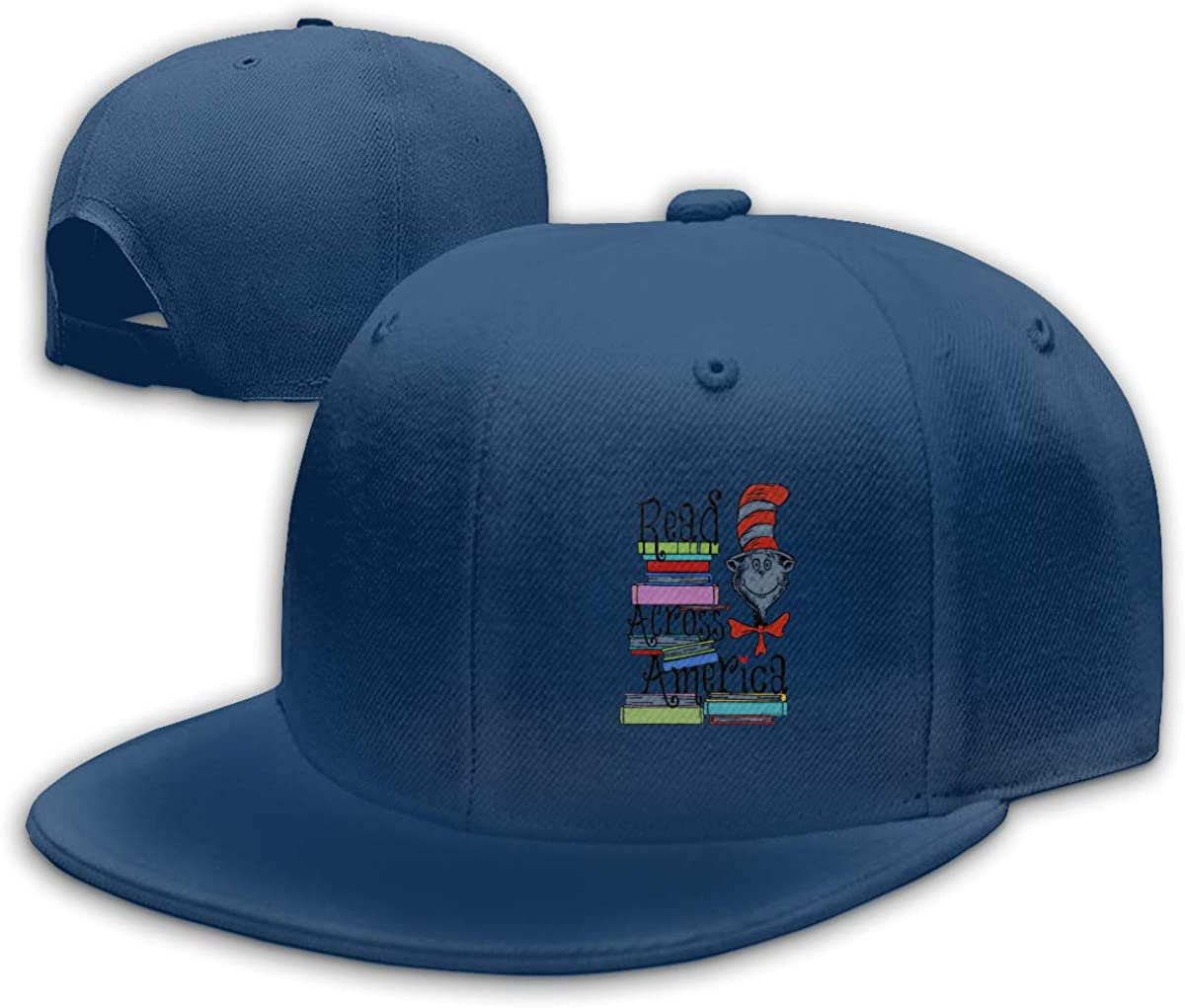 ORYISGAD Read-Across-America-Day Sports Cap for Mens and Womens