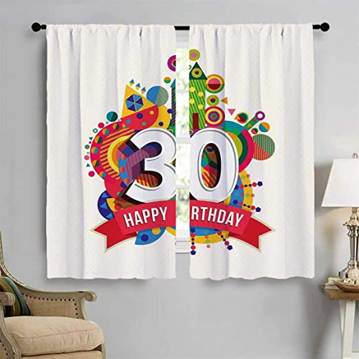 Cortinas Personalizadas para el 26 cumpleaños, diseño de ...