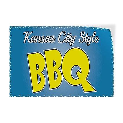 migliori offerte su bello design vendita online Amazon.com : Decal Sticker Kansas City Stole BBQ Restaurant ...
