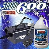 Snow Machine 600 Watt with one gallon of SFG Snow