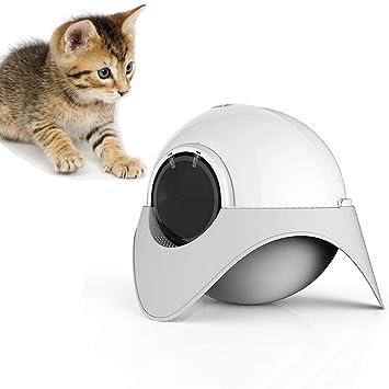 DJLOOKK Autolimpieza de la Caja de Arena para Gatos, Espacio Cápsula de Basura Cerrado Aseo