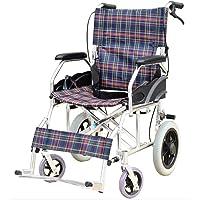 Tourism Aluminum Manual Wheelchair, Folding Portable Convenient Disabled Elderly Wheelchair Wheelchair Light, Y-L
