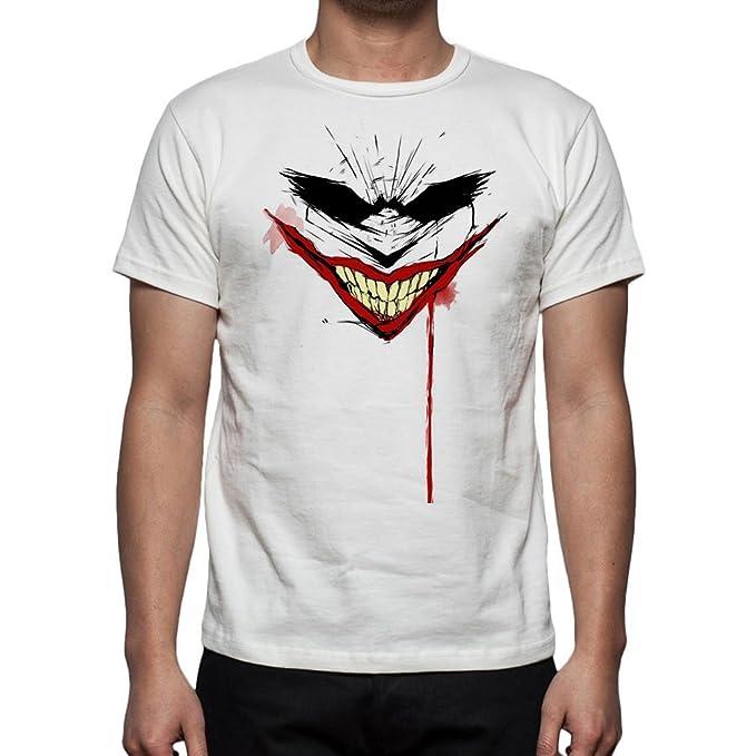 Palalula Hombre Batman The Joker El Comodin Camiseta: Amazon.es: Ropa y accesorios