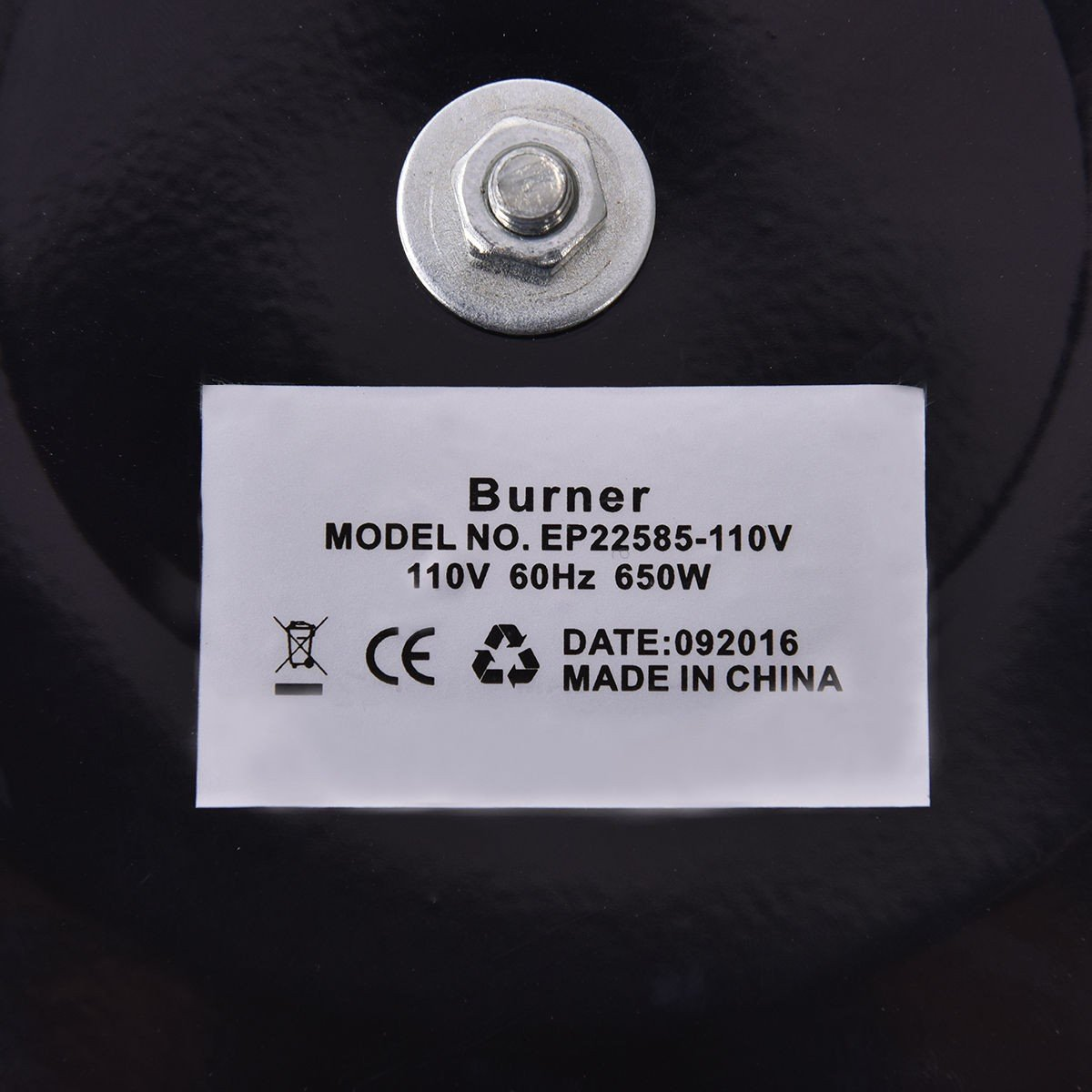 Electric Charcoal Starter Hookah Shisha Nargila Heater Stove Charcoal Burner Costway by COSTWAY (Image #8)