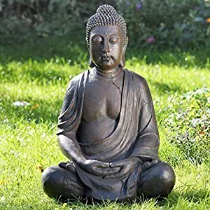 Figura gigante de Buda 102 cm de altura también para el exterior Estatua escultura